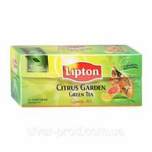 "Чай ""Ліптон"" 25п*1,8г Зеленый Цитрус (Citrus Garden Green) (1/24)"