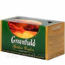 """Чай """"Гринфилд"""" 25п * 2г Черный Golden Ceylon (1/10) 619"""