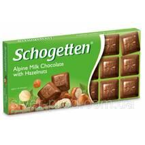 Шоколад молочный SCHOGETTEN HAZELNUT лисов.горих 100г (1/15) 14821