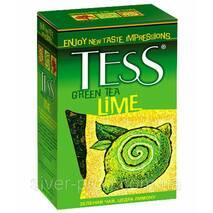 "Чай ""Тесс"" 90г Lime, Green [Зеленый с лимоном] (1/15) 504"