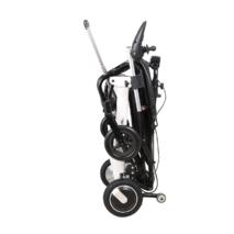 Легкая складная электрическая коляска для инвалидов MIRID D6033. Сверхпрочный алюминий.