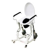 Кресло для туалета c подъемным устройством и подставным судномMIRID LWY002