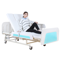 Медична функціональна електро ліжко з туалетом MIRID E36 (широке ложе)