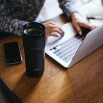 Розумна кухоль-термос Ember Travel Mug | Чорна