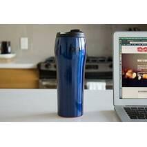 Що не падає чашка-термос Mighty Mug GO SS Синя (530 мл)