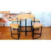 Комплект барной мебели - Кофейный стол с табуретами