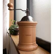 Дизайнерская японская кофемолка Hario Mill Column с керамическими жерновами