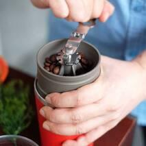 Набор для приготовления кофе Cafflano (кофемолка,пуровер,заварник)