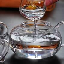 Чайник заварювальний скляний, 800 мл