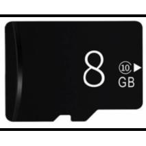 MicroSD карта пам'яті 8gb Сlass 10 для трекерів, IP- камер і відеокамер