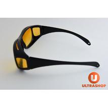 Окуляри Антивідблисків для водіїв 2в1 - HDVision WrapArounds Original - Окуляри для водіння Антивідблиск, Антифари