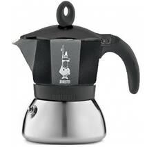 Гейзерная кофеварка Bialetti Moka Induction Black (3 чашки - 170 мл)