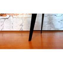 Журнальный кофейный стол круглый в стиле лофт