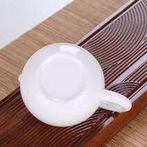 Фарфоровий заварювальний чайник білий, 180 мл