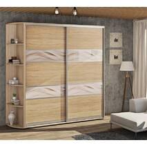 Шкаф купе Лофт стиль модель 3 фасады комбинированные