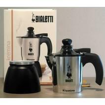 Гейзерная кофеварка Bialetti Moka Kremina ( 3 чашки - 170 мл)