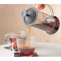 Фірмовий френч-прес Hario Cafe Press Slim Red (240 мл)
