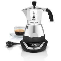 Электрическая гейзерная кофеварка Bialetti Moka Timer (6 cup - 300 мл)