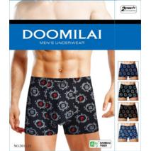 Мужские боксеры стрейчевые из бамбука  Марка  «DOOMILAI» Арт.D-01121