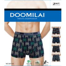 Мужские боксеры стрейчевые из бамбука  Марка  «DOOMILAI» Арт.D-01141