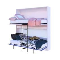 Двухьярусная кровать DUO 90х190см/90смх190см