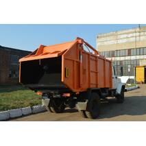 Сміттєвоз КО-433-01 з заднім ручним завантаженням на шасі ГАЗ