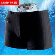 Плавки мужские купальные HNSD-9761 чёрный