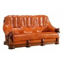 Кожаный диван OSKAR