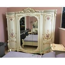 Елітна спальня Афіна з фото малюнками. Підсилений каркас ліжка в подарунок