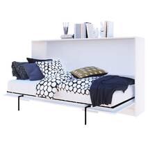 Шкаф кровать горизонтальный XS 90х200 см Дуб королевский