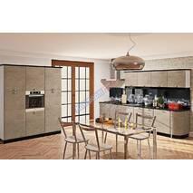 Кухня Хай тек с пленочными мдф фасадами