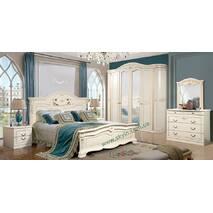 Класична спальня Сорренто біла СЛОНІММЕБЛІ