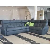 Кутовий шкіряний диван релакс ARIZONA