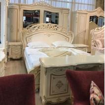 Біла класична спальня Алегро СлонімМеблі