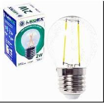 Светодиодная лампа LEDEX E27, 2w, шарик 190lm, 4000К, FILAMENT 100204