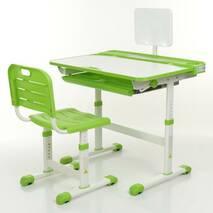 Парта + стул трансформеры Bambi M 3823A-5 Зеленый