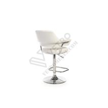 Барный стул B-90 блестящий белый
