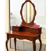 Туалетний столик із дзеркалом Скарлет з дерева