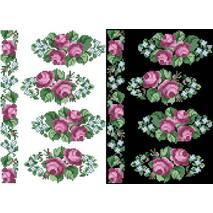 Схема для вышивки бисером на водорастворимом неклеевом флизелине Барвиста Вышиванка Канва с нанесенным рисунком 20х30 (ФЛ022фн2030)