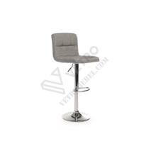 Барный стул B-40 серый (ткань)