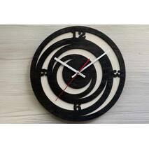 Дизайнерський настінний дерев'яний годинникTrend2