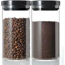 Ємність з вакуумною кришкою для зберігання кави | 1000 мл