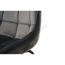 Барный стул B-140 серый
