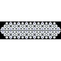Набор для вышивки бисером Барвиста Вышиванка заготовки сшитого клатча Сокальская. Нежность (КЛ058шБ1301k)