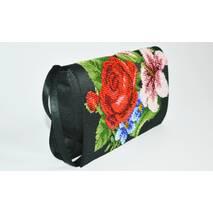Набор для вышивания бисером Барвиста Вышиванка Роскошный павлин 45х67 (ТТ014ан4567k)