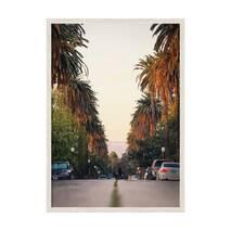 """Постер """"Hollywood"""" із склом антивідблиску 297x420  мм у білій рамці"""