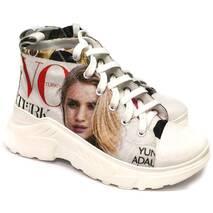 Кеды молодежные Vogue, ткань + кожа, 37, 100-19.12