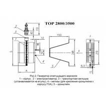 Генератор огнетушащего аэрозоля «ТОР 2800»