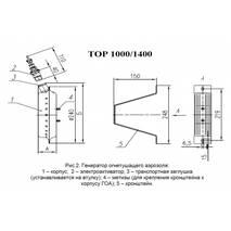 Генератор огнетушащего аэрозоля «ТОР 1000»
