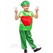 Детский костюм Яблоко для детей 4, 5, 6, 7 лет Карнавальный костюм для мальчиков девочек на праздник Осени 340